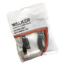 Кабель USB Walker C110 для Apple iPhone 3/4 черный