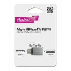 Адаптер Partner/Olmio Type-C to USB3.0