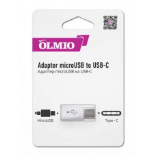 Адаптер Partner/Olmio microUSB to Type-C