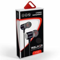 """Наушники Walker H720 """"Металл"""" с микрофоном в ассортименте"""