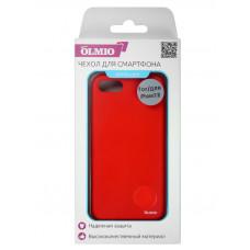 Накладка защитная Partner/Olmio Velvet для iPhone 7/8 Plus красная