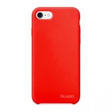 Накладка Partner/Olmio Velvet для iPhone 7/8, дизайн оригинала, красная