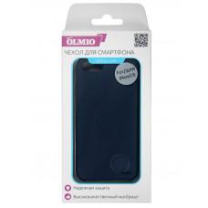 Накладка защитная Partner/Olmio Velvet для iPhone 7/8 темно-синяя