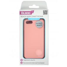 Накладка защитная Partner/Olmio Velvet для iPhone 7/8 нежно-розовая