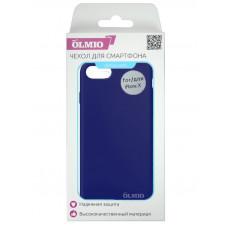Накладка Partner/Olmio Velvet для iPhone X, дизайн оригинала, темно-синяя