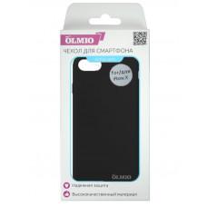 Накладка Partner/Olmio Velvet для iPhone X, дизайн оригинала, черная