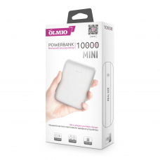ЗУ Power Bank Partner/Olmio Mini 10000 mAh белый