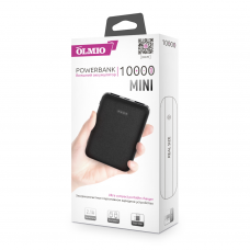 ЗУ Power Bank Partner/Olmio Mini 10000 mAh черный