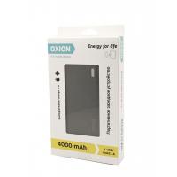 ЗУ Power Bank Oxion Compact Disign 4000 mAh черный