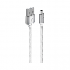 Кабель Oxion USB to microUSB 1m белый