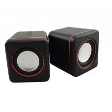 Колонки USB Oxion 2x2WT (100) настольные черные