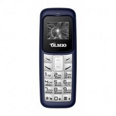 Телефон Olmio A02 (с функцией Bluetooth-гарнитуры) сине-белый