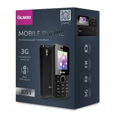 Телефон Olmio K01 (с поддержкой 3G) черный