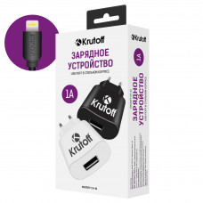 СЗУ Krutoff 1A + кабель Apple Lightning