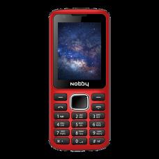 Телефон Nobby 230 красно-черный