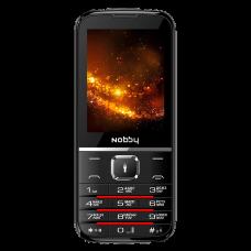 Телефон Nobby 310 черно-серый