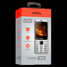 Телефон Nobby 320 серебристый