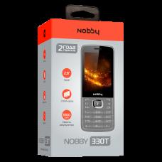 Телефон Nobby 330T серо-черный
