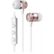 Bluetooth-наушники Nobby Practic BT-100 розовое золото