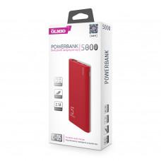 ЗУ Power Bank Partner/Olmio С-05 5000 mAh красный