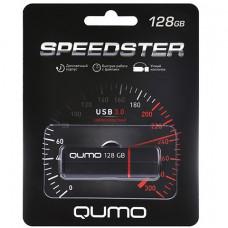 Флеш-накопитель USB 128GB Qumo Speedster Black