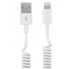 Кабель Maverick USB to Apple Lightning 1.5m витой белый