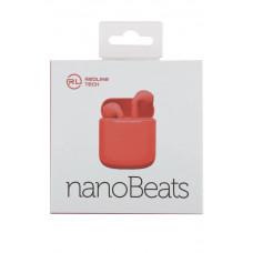 Bluetooth-наушники Red Line BHS-10 soft touch красные