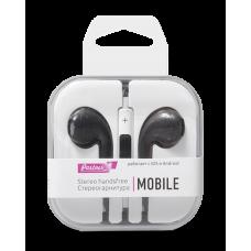 Наушники Partner/Olmio (аналог EarPods) Mobile черные