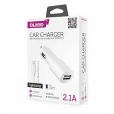 АЗУ Partner/Olmio 2.1A + кабель Apple Lightning