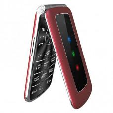 "Телефон Olmio F28 (2,8"", 800mAh, 2 SIM, раскладушка, камера, крупные клавиши) красный"