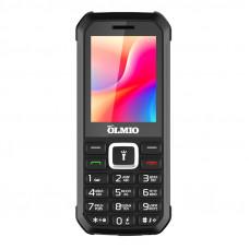 """Телефон Olmio P30 (2,4"""", 2800mAh, 3 SIM, камера, с функцией Power Bank) черный"""