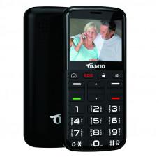 """Телефон Olmio C27 (2,31"""", 1000mAh, 2 SIM, камера, крупные клавиши, громкий динамик, фонарик) черный"""