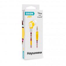 Наушники Oxion JOY желтые