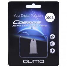 Флeш-накопитель USB 2.0 8GB Qumo Cosmos Silver QM8GUD-Cos
