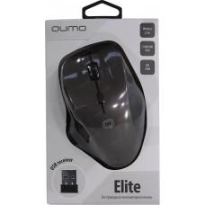 Мышь беспроводная Qumo Office Elite M55 6 кнопок, 800-2400dpi программируемая серая