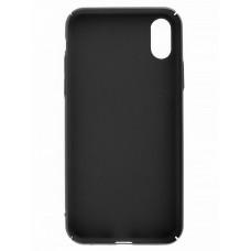 Накладка силиконовая CaseGuru Soft-Touch 0.5mm для Apple iPhone X/XS черная