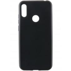 Накладка силиконовая CaseGuru Soft-Touch 0.5mm для Huawei Honor 8C черная