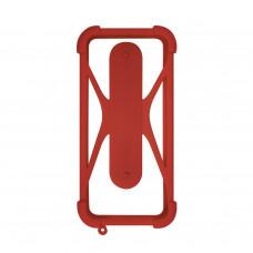 Чехол-бампер универсальный Partner/Olmio 4.5-6.5 #1 бордовый