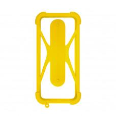 Чехол-бампер универсальный Partner/Olmio 4.5-6.5 #1 желтый
