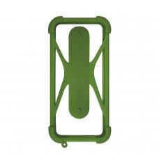 Чехол-бампер универсальный Partner/Olmio 4.5-6.5 #1 зеленый хаки