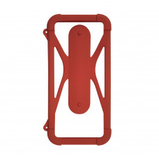 Чехол-бампер универсальный Partner/Olmio 4.5-6.5 #2 бордовый