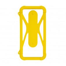 Чехол-бампер универсальный Partner/Olmio 4.5-6.5 #2 желтый