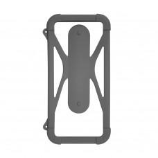 Чехол-бампер универсальный Partner/Olmio 4.5-6.5 #2 серый