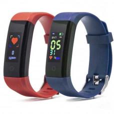 Фитнес-браслет Smarterra FitMaster 4 красный+голубой