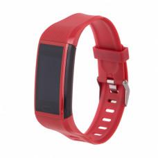 Фитнес-браслет Smarterra FitMaster 5 красный+черный ремешок