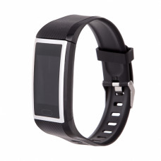Фитнес-браслет Smarterra FitMaster 5 черный+серый ремешок