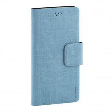 Чехол-книжка Maverick Slimcase 5.2-5.5 (XL) джинсовый мятный