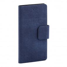 Чехол-книжка Maverick Slimcase 5.2-5.5 (XL) джинсовый синий