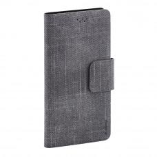 Чехол-книжка Maverick Slimcase 5.5-6.0 (2XL) джинсовый, серый