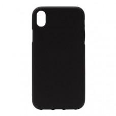 Накладка силиконовая BmCase для Apple iPhone XS Max матовая черная